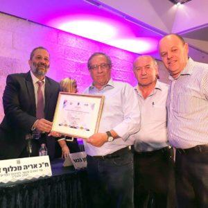 ראש עיריית רמת גן עם אריה דרעי